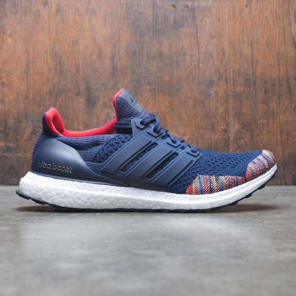 アディダス Adidas メンズ シューズ・靴 スニーカー【UltraBOOST LTD】navy / collegiate navy / vivid red
