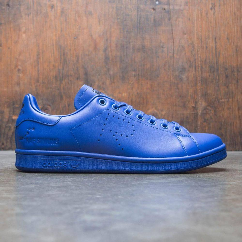 アディダス Adidas Raf Simons メンズ シューズ・靴 スニーカー【RS Stan Smith】blue / power blue / mystery ink / footwear white