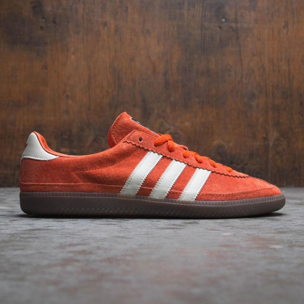 アディダス Adidas メンズ シューズ・靴 スニーカー【Whalley SPZL】orange / collegiate orange / off white / black