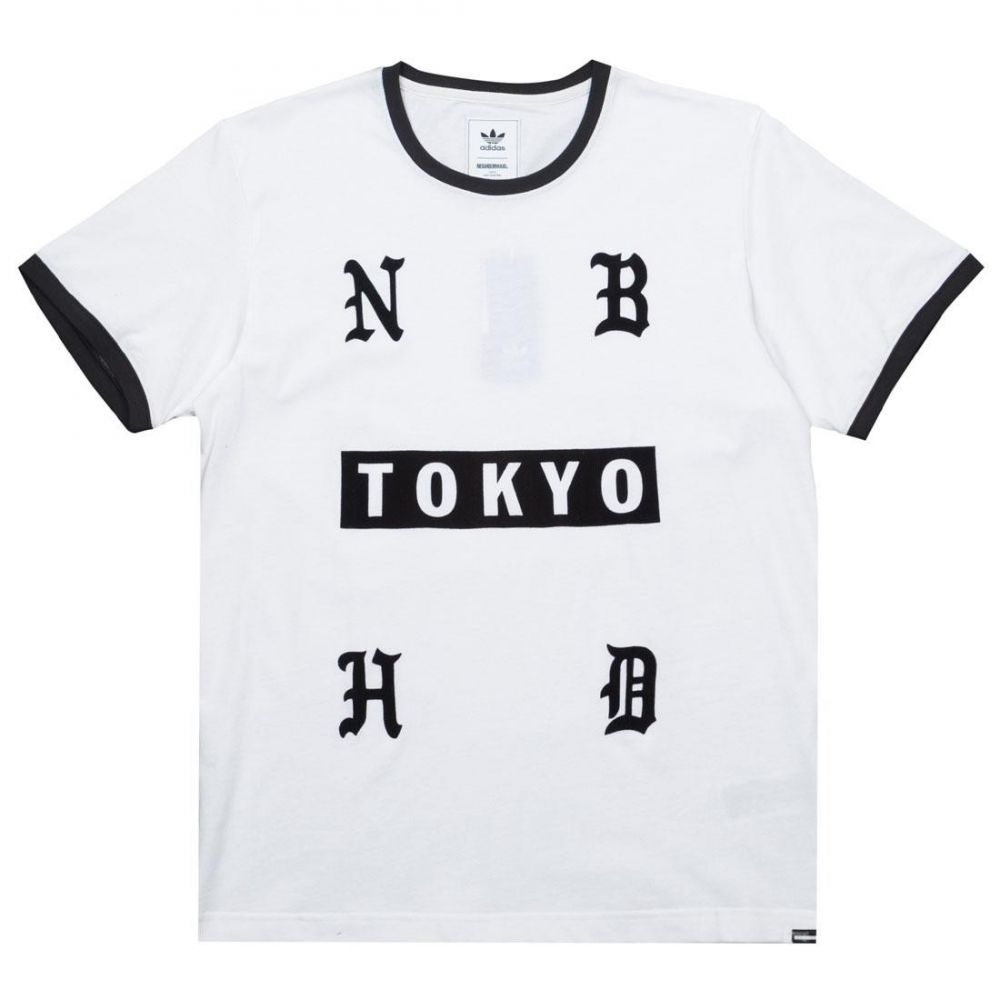アディダス Adidas メンズ トップス Tシャツ【x Neighborhood NH Short Sleeve Tee】white