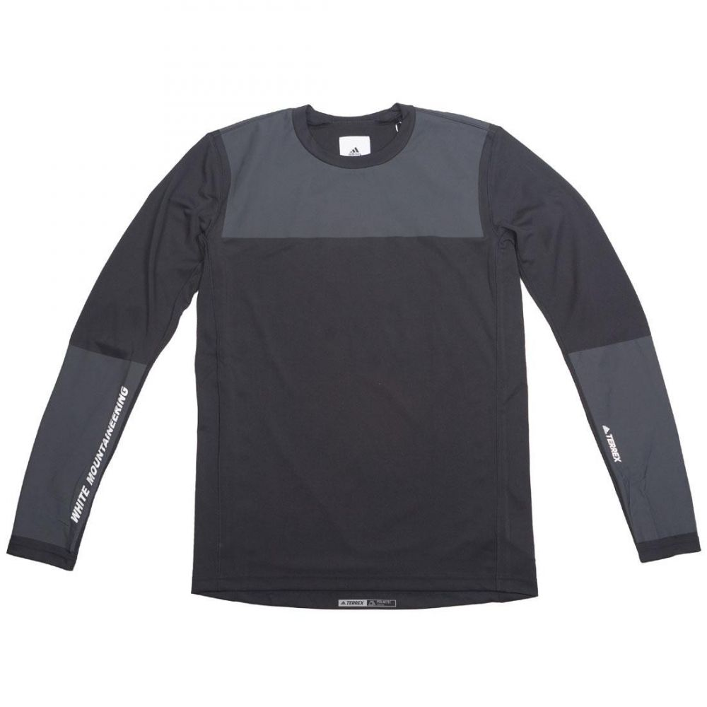 アディダス Adidas メンズ トップス 長袖Tシャツ【x White Mountaineering WM Agravic Bonded Long Sleeve Tee】black