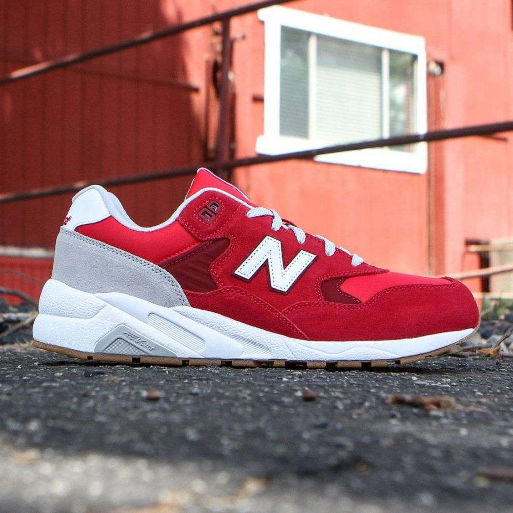 ニューバランス New Balance メンズ シューズ・靴 スニーカー【580 Elite Edition REVlite MRT580MB】red / scarlet sage / light grey