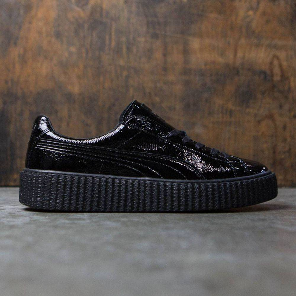 プーマ Puma メンズ シューズ・靴 スニーカー【x Fenty By Rihanna Creeper - Cracked Leather】black