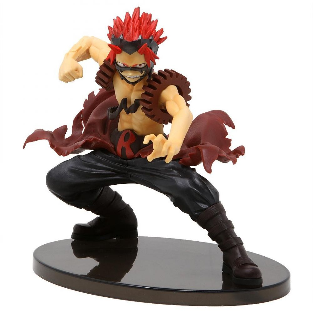 僕のヒーローアカデミア My Hero Academia フィギュア 【my hero academia the amazing heroes vol.4 eijiro kirishima figure】red