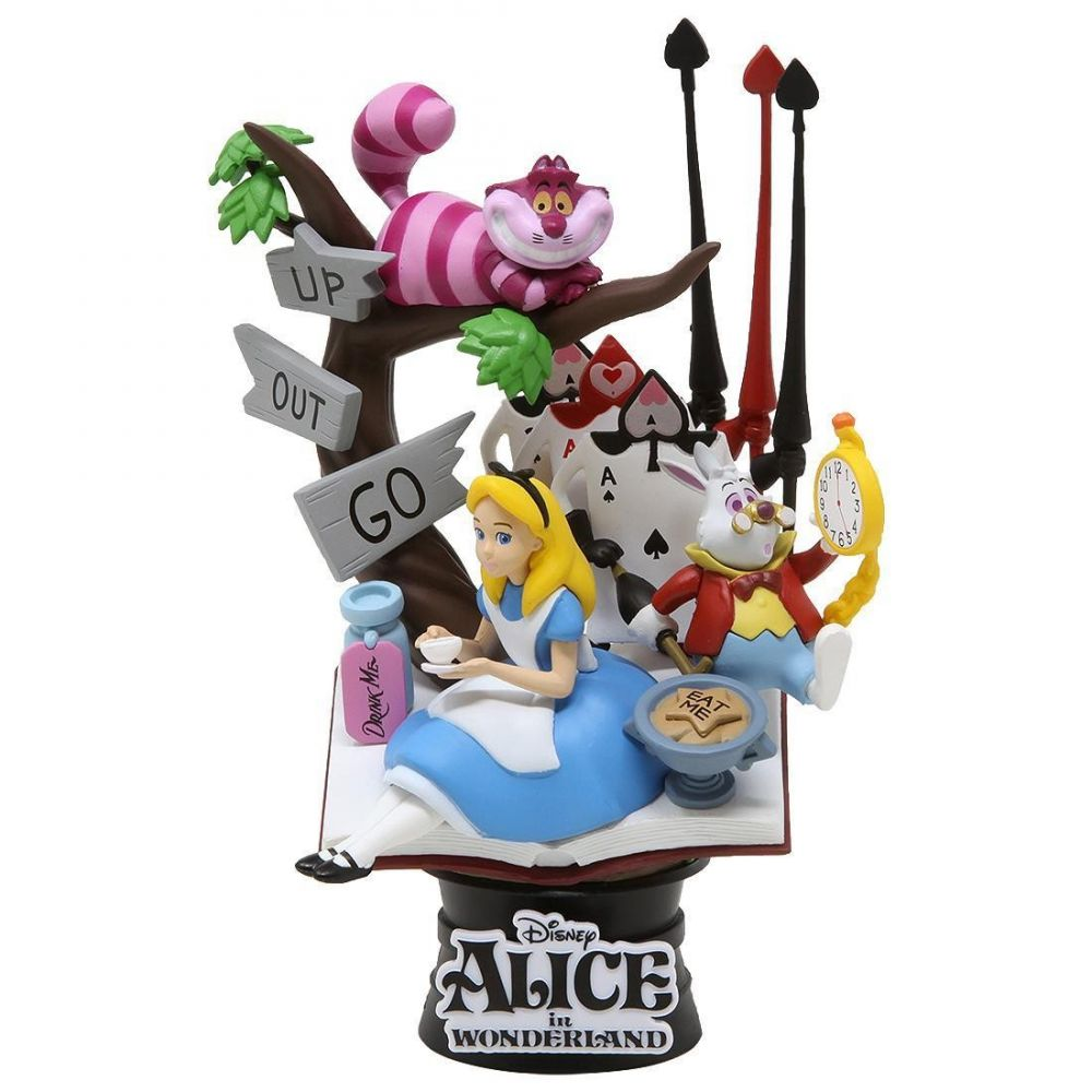 ディズニー Disney 彫像・スタチュー 【beast kingdom disney alice in wonderland d-select ds-010 6 inch statue - px previews exclusive】blue
