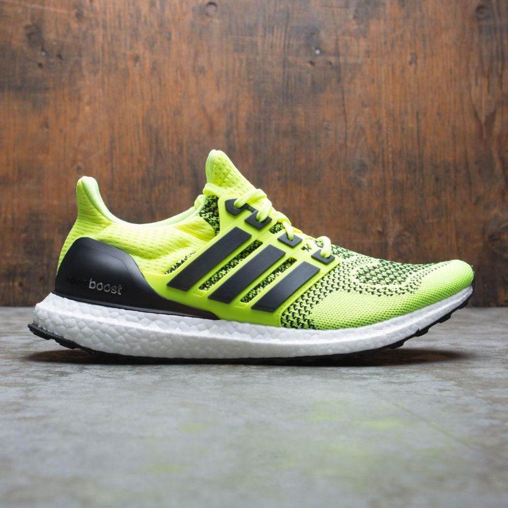 アディダス Adidas メンズ スニーカー シューズ・靴【men ultraboost】yellow/solar yellow/core black