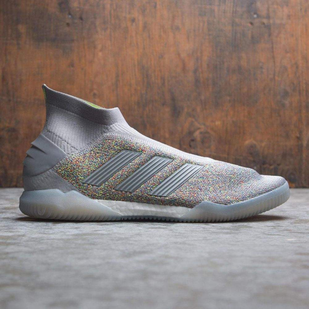 アディダス Adidas メンズ スニーカー シューズ・靴【men predator 19+ tr】gray/ch solid grey/active red/solar yellow