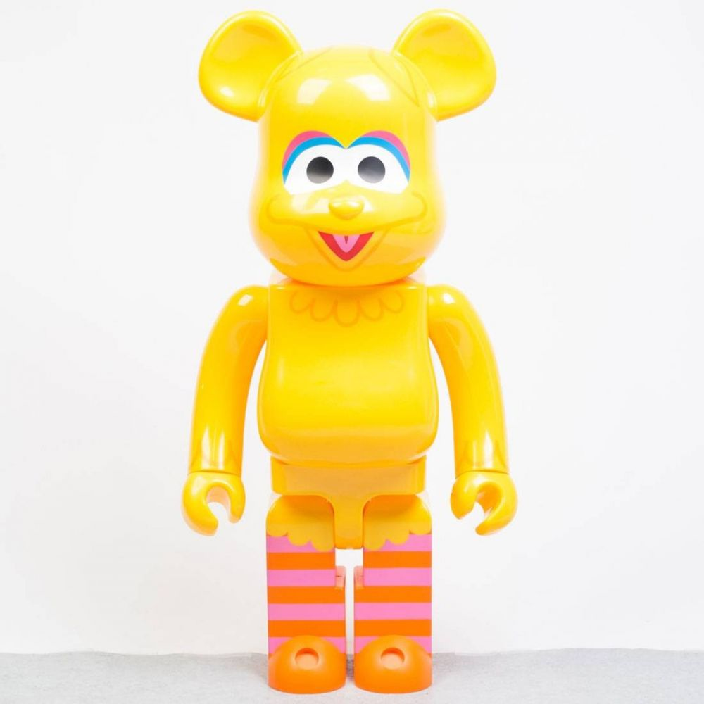 セサミストリート Sesame Street フィギュア 【sesame street big bird 1000% bearbrick figure】yellow