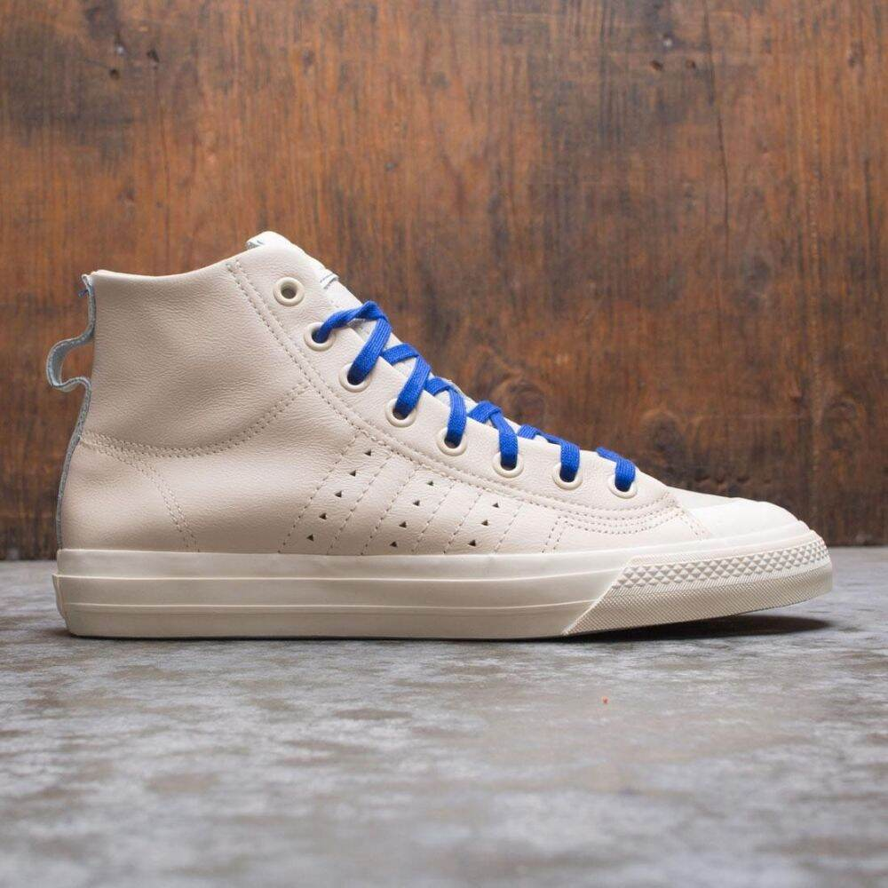 アディダス Adidas メンズ スニーカー シューズ・靴【Pharrell Williams Nizza Hi RF】beige/ecru tint/chalk white/clear brown
