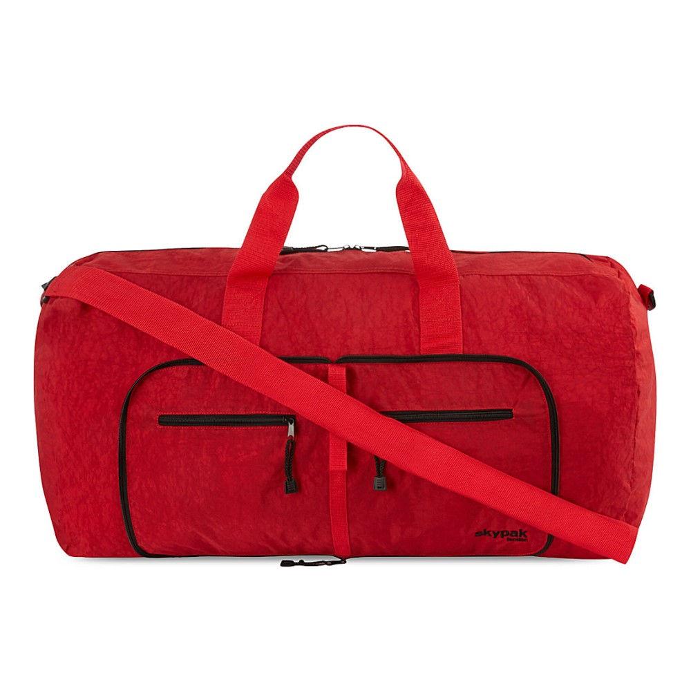 スカイパック skypak メンズ バッグ ボストンバッグ【folding bag】Red