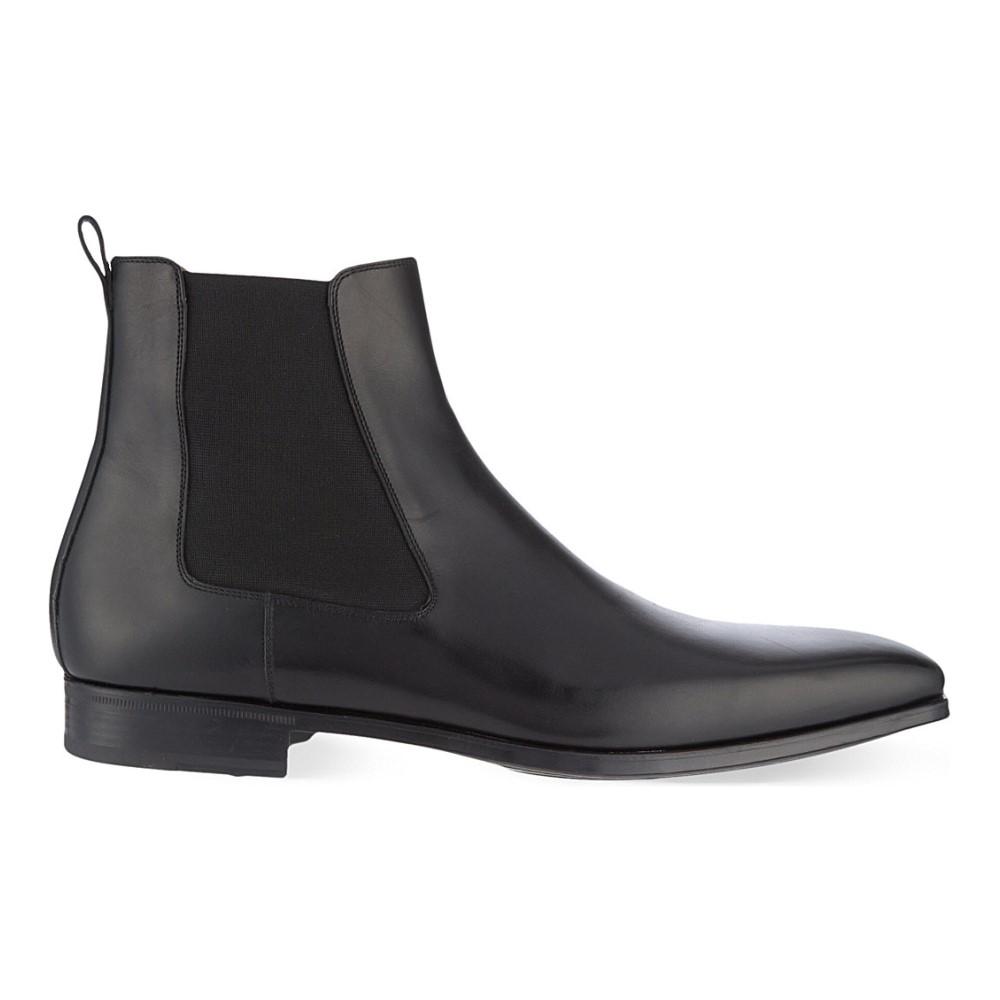マグナーニ magnanni メンズ シューズ・靴 ブーツ【leather chelsea boots】Black