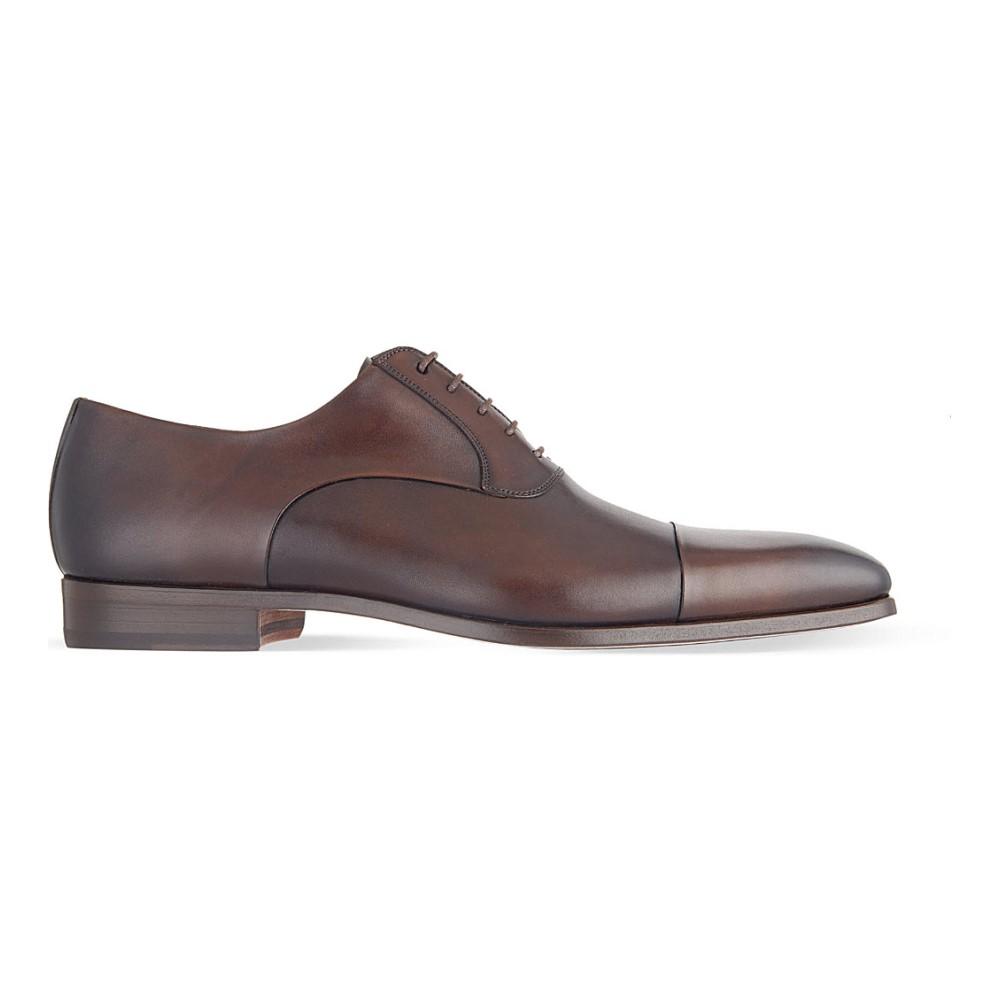 マグナーニ magnanni メンズ シューズ・靴 革靴【toecap oxford shoes】Brown