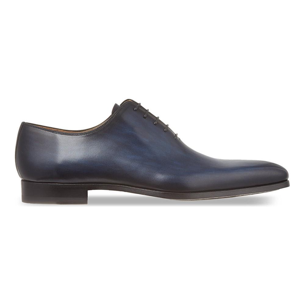 マグナーニ magnanni メンズ シューズ・靴 革靴【wholecut lace-up shoes】Blue