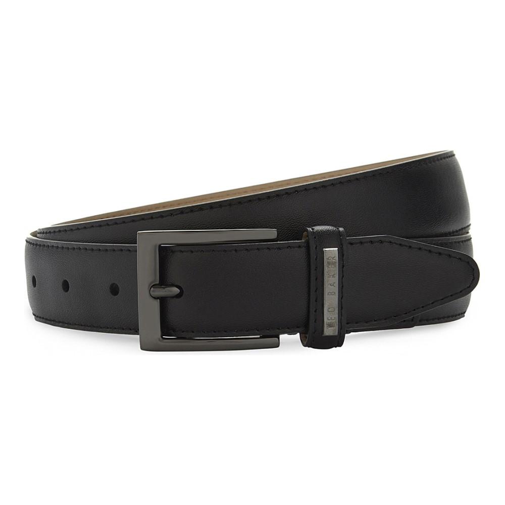 テッドベーカー ted baker メンズ アクセサリー ベルト【lizwiz leather belt】Black