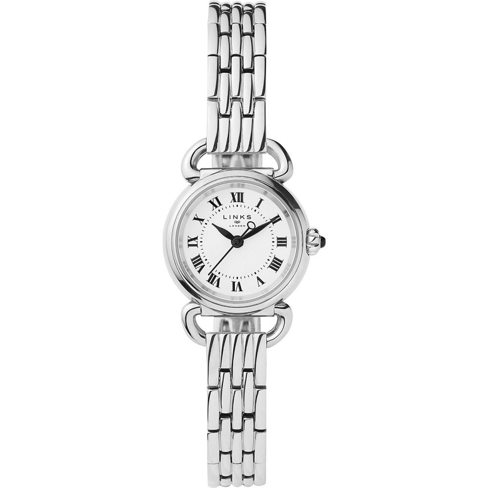 リンクス オブ ロンドン links of london レディース アクセサリー 腕時計【6010.2172 driver mini stainless steel watch】Silver