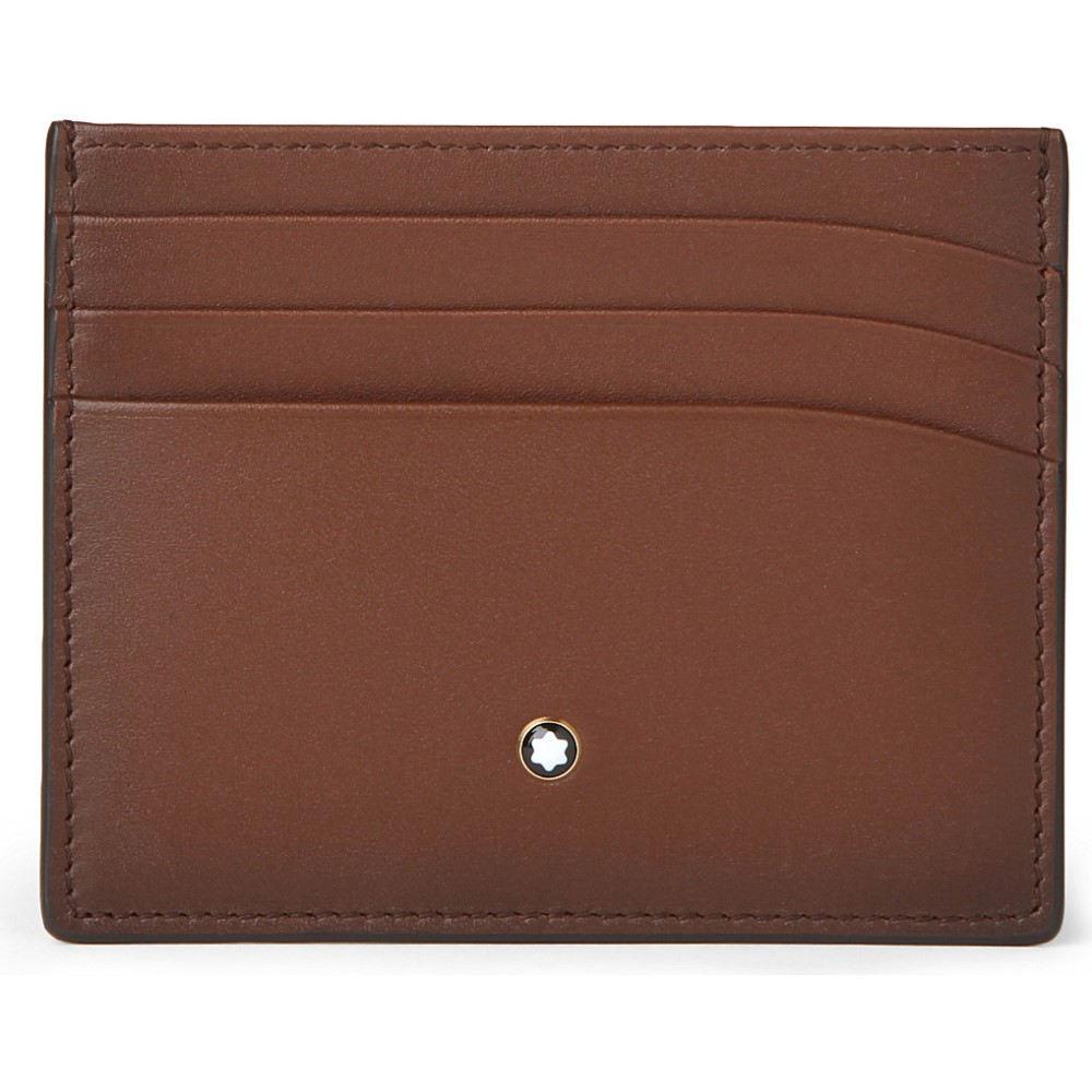 モンブラン montblanc メンズ 財布・時計・雑貨 カードケース・名刺入れ【meisterstuck sfumato leather card holder】Brown