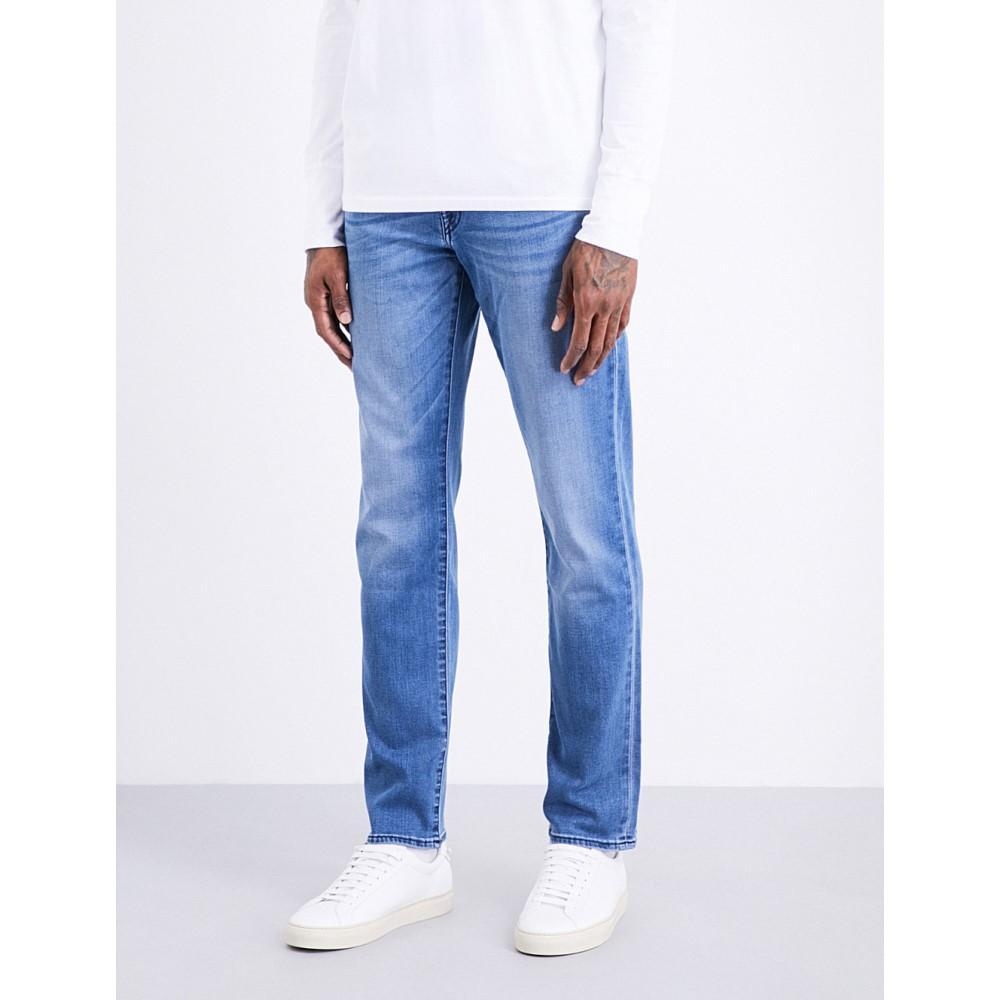 トゥルー レリジョン メンズ ボトムス・パンツ ジーンズ・デニム【geno slim-fit relaxed jeans】Indigo frost