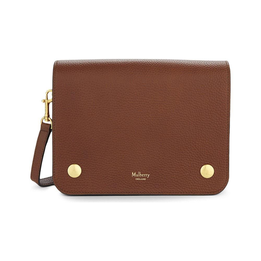 マルベリー レディース バッグ ショルダーバッグ【clifton grained leather cross-body bag】Oak