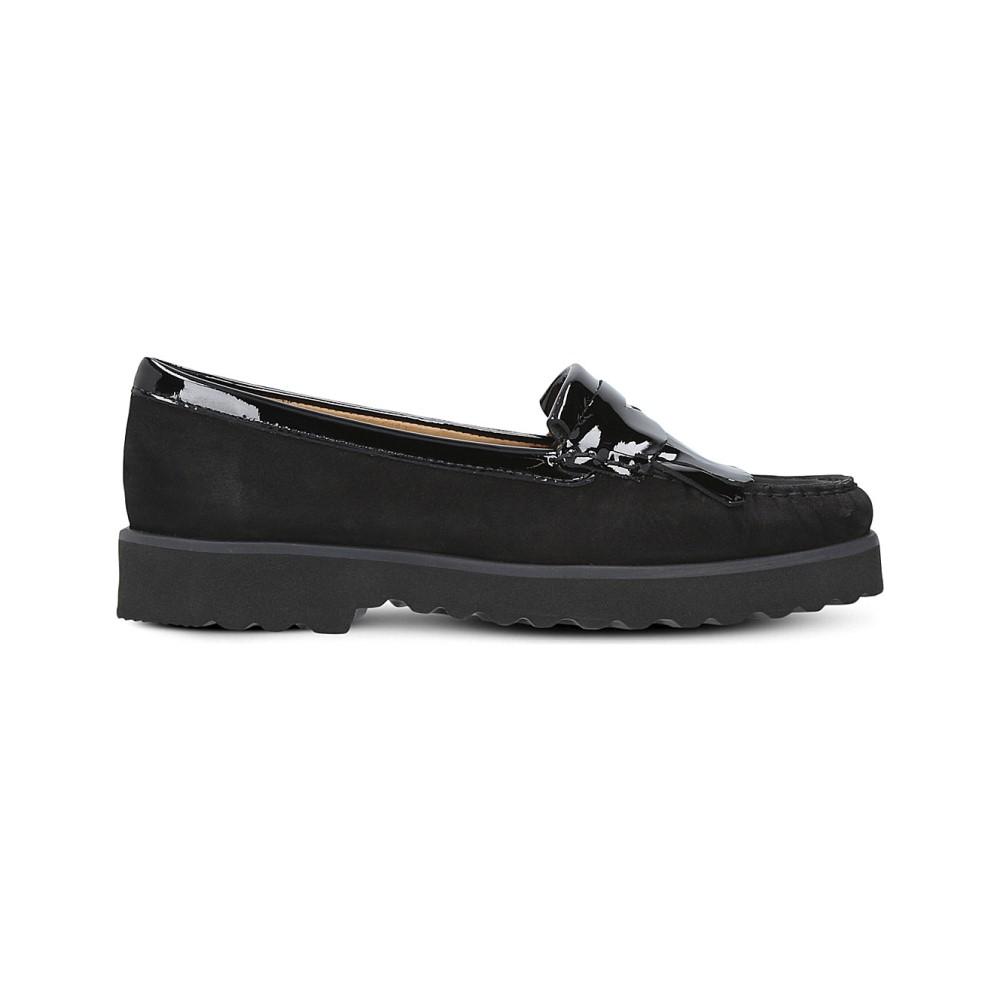 カーヴェラコンフォート レディース シューズ・靴 ローファー・オックスフォード【claire suede loafers】Black