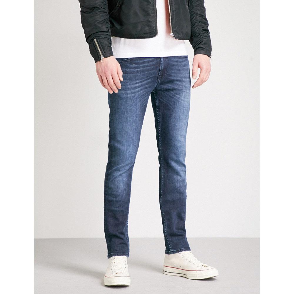セブン フォー オール マンカインド メンズ ボトムス・パンツ ジーンズ・デニム【ronnie luxe slim-fit skinny jeans】Dark blue