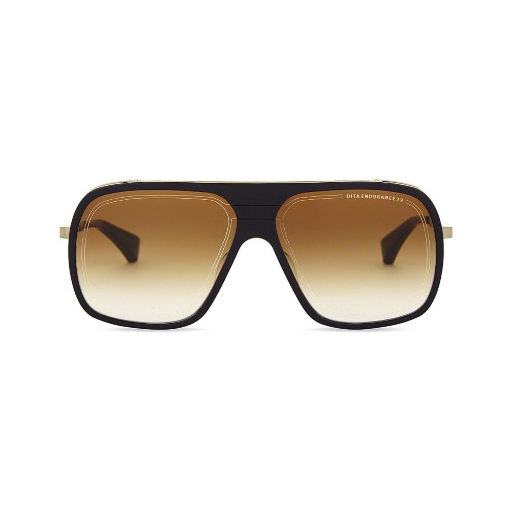 ディータ レディース メガネ・サングラス【endurance 79 square-frame sunglasses】Blue yellow