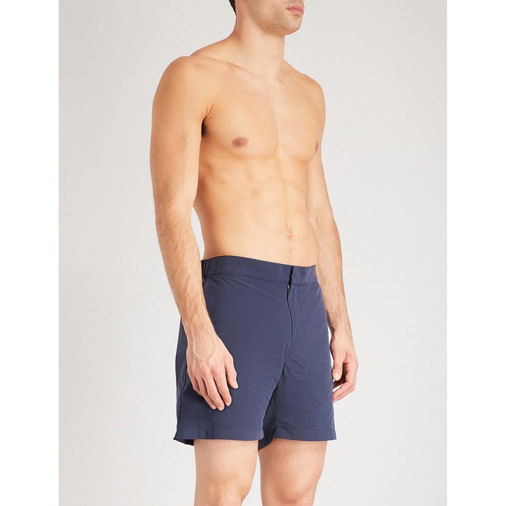 デリック ローズ メンズ 水着・ビーチウェア 海パン【solid swim shorts】Navy