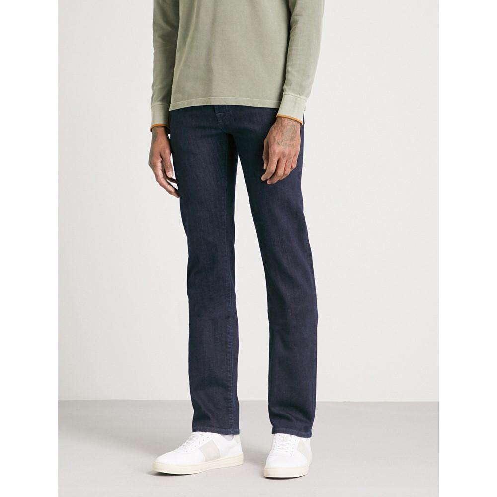 ヤコブ コーエン メンズ ボトムス・パンツ ジーンズ・デニム【tailored-fit straight jeans】Navy