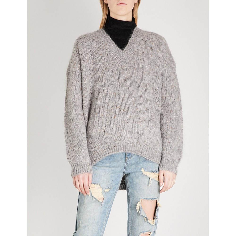 モーアンドコー レディース トップス ニット・セーター【heather knitted jumper】Heather grey