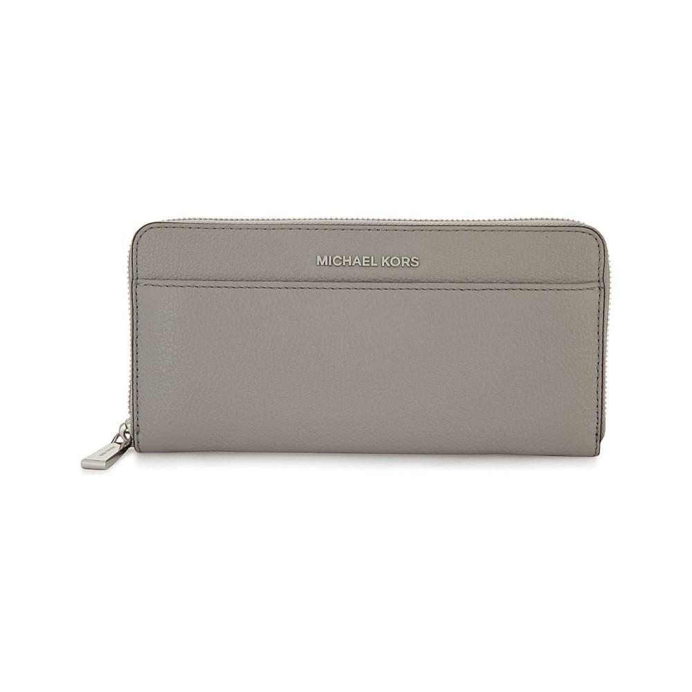 マイケル コース レディース 財布【mercer leather purse】Pearl grey