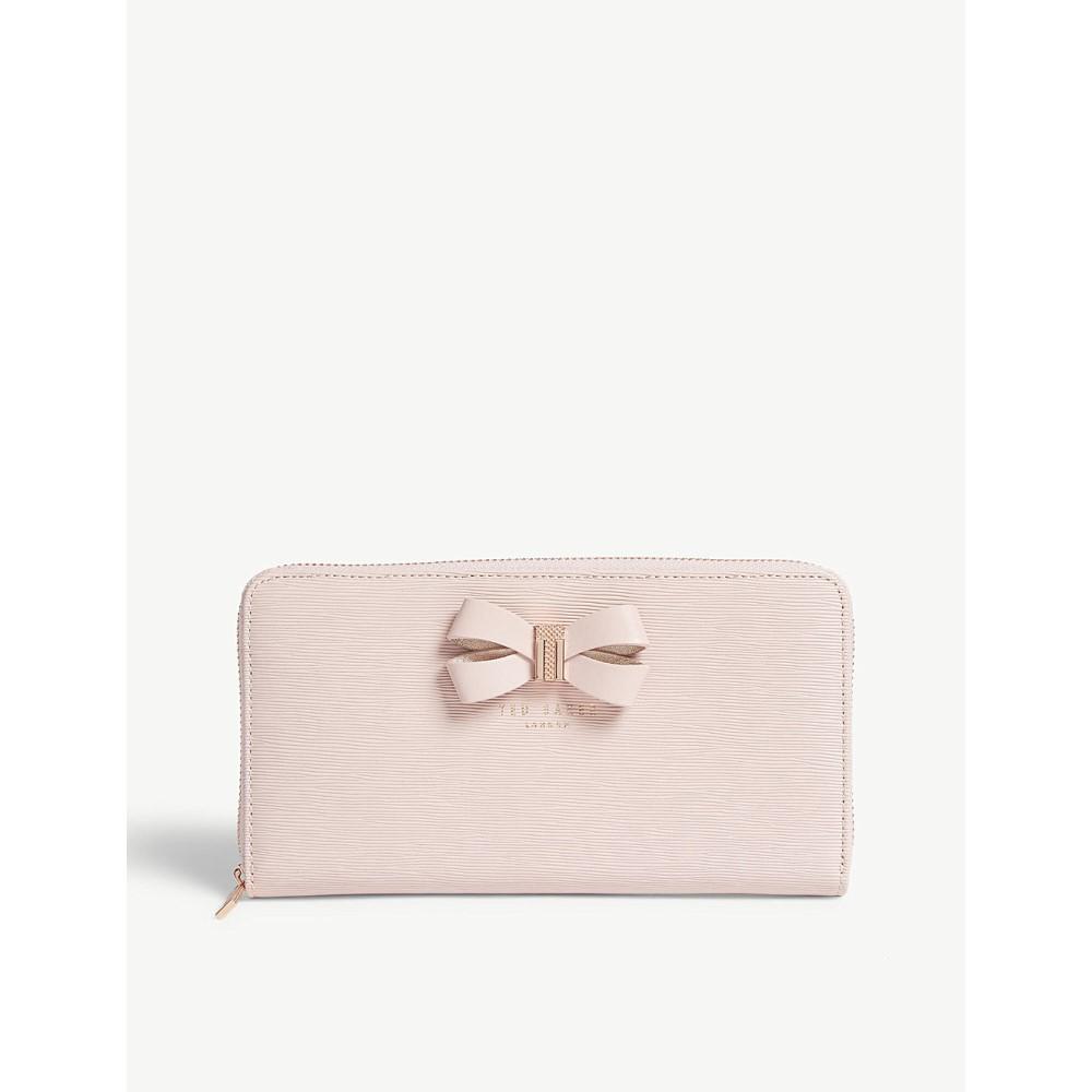 テッドベーカー レディース 財布【matinee leather wallet】Light pink