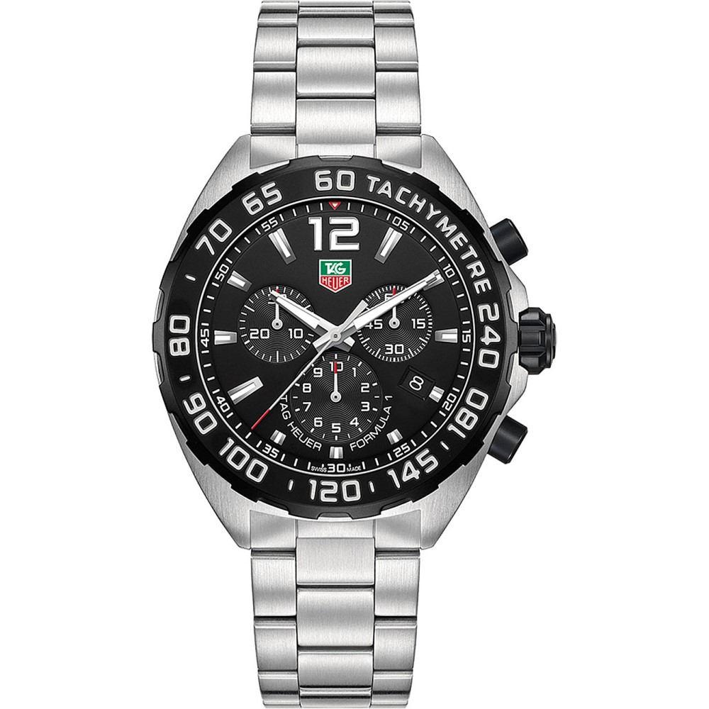 タグ ホイヤー メンズ 腕時計【caz1110.ba0877 formula 1 stainless steel watch】Black