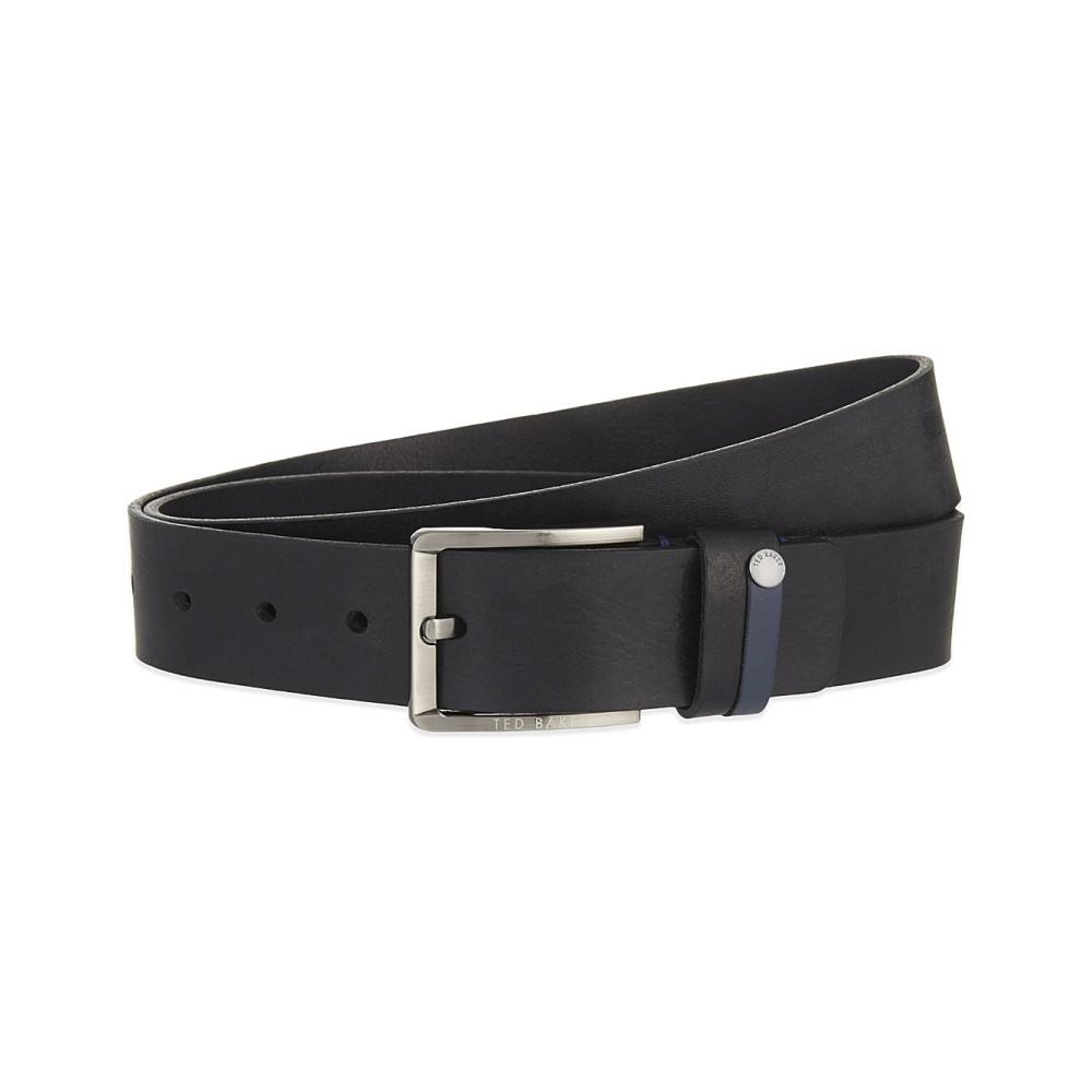 テッドベーカー メンズ ベルト【keepsak leather belt】Black