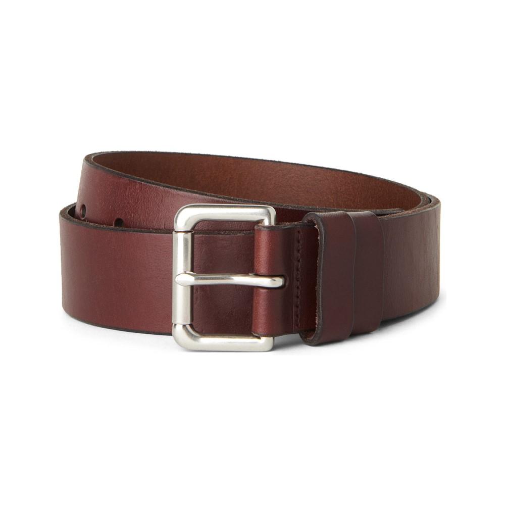 ラルフ ローレン メンズ ベルト【double-keeper leather belt】Brown