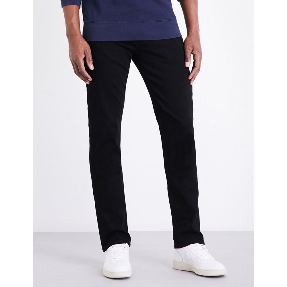 ペイジ メンズ ボトムス・パンツ ジーンズ・デニム【federal slim-fit mid-rise jeans】Black shadow