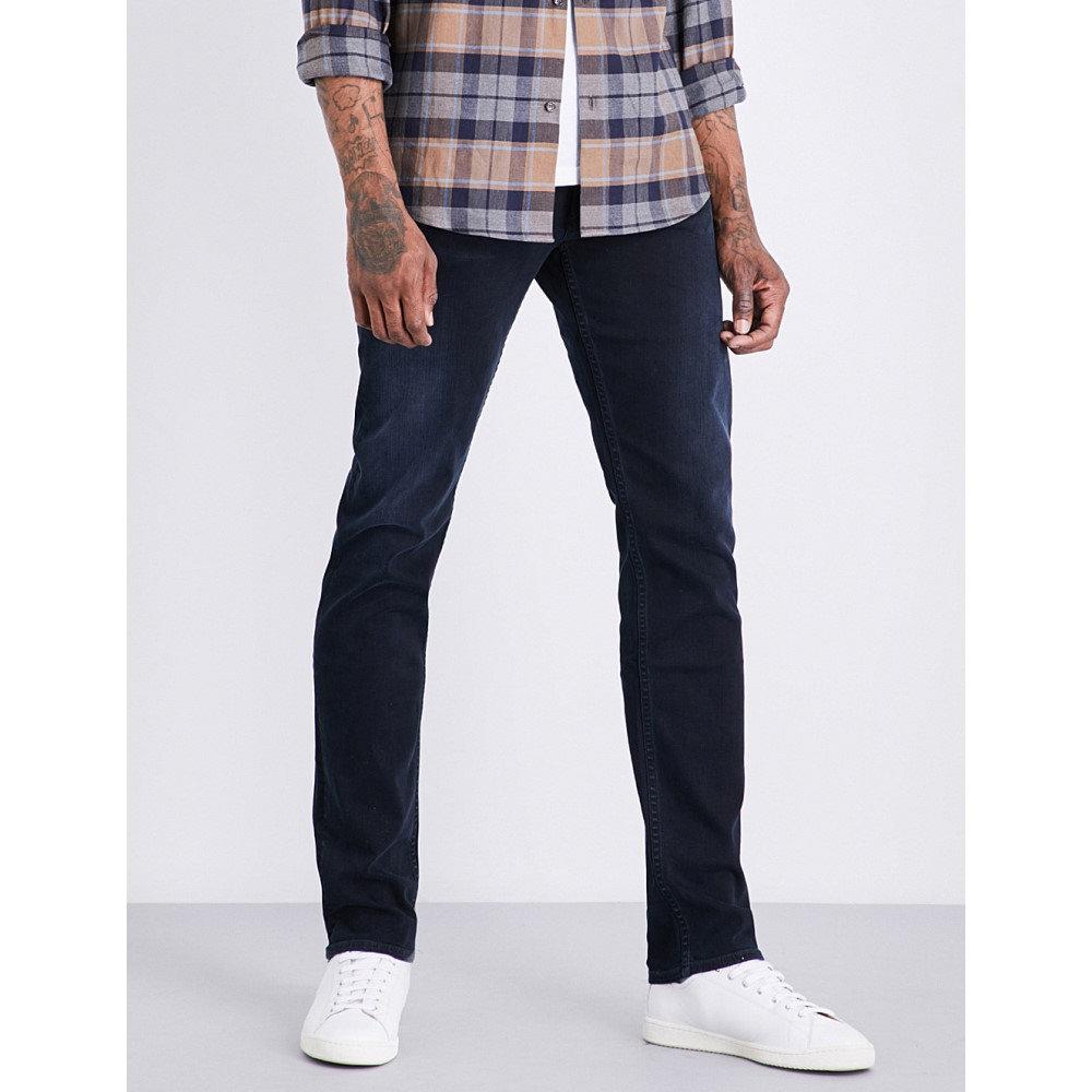 シチズン オブ ヒューマニティ メンズ ボトムス・パンツ ジーンズ・デニム【bowery slim-fit straight stretch-denim jeans】Ink