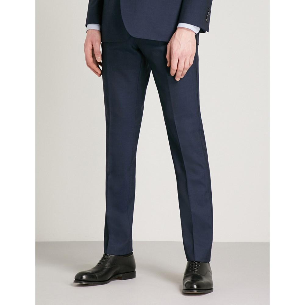 リース メンズ ボトムス・パンツ スラックス【bravo t modern-fit wool trousers】Navy