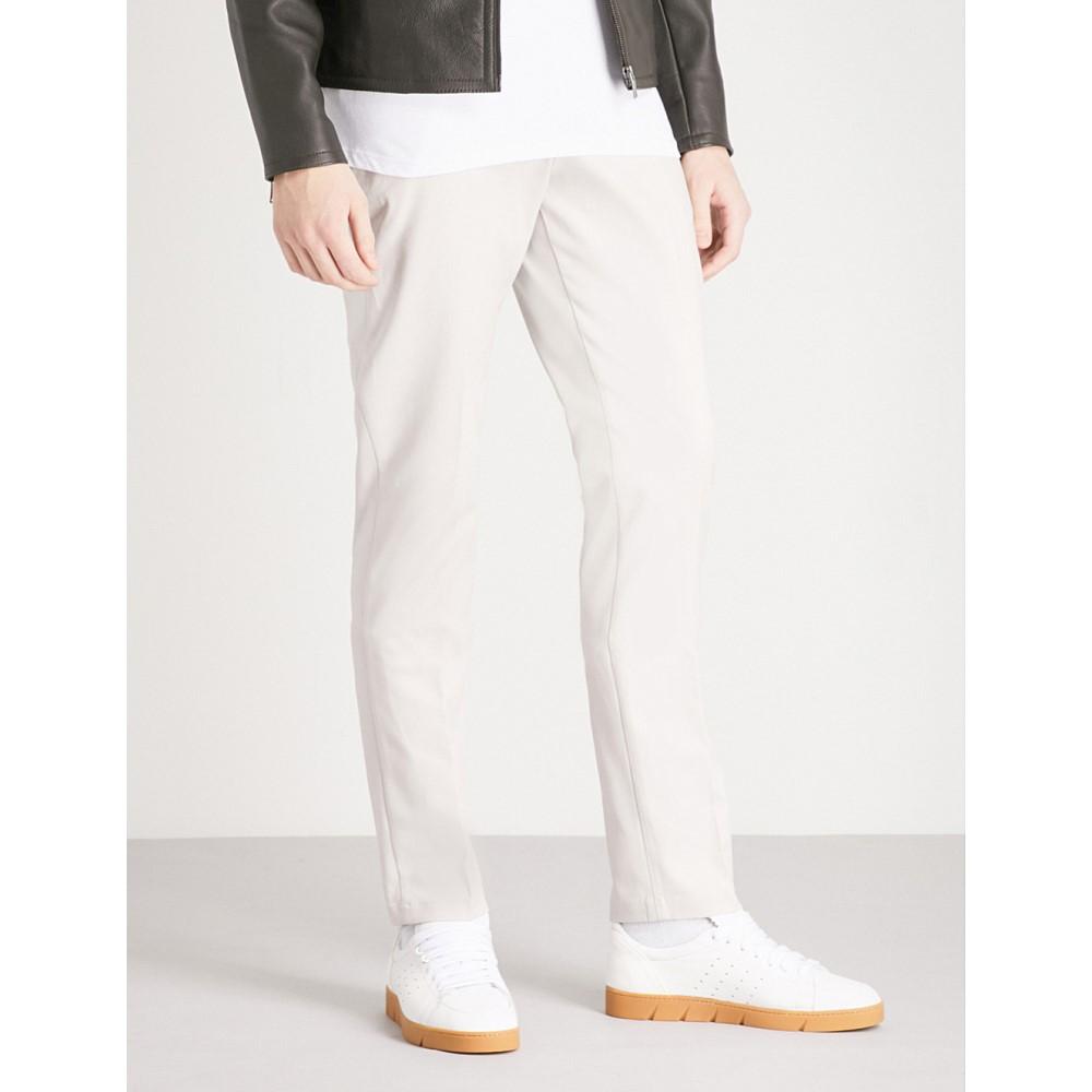 リース メンズ ボトムス・パンツ スラックス【westbury slim-fit tapered stretch-cotton trousers】Stone