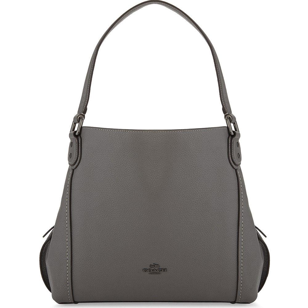 コーチ レディース バッグ ショルダーバッグ【edie 31 leather shoulder bag】Dk/heather grey