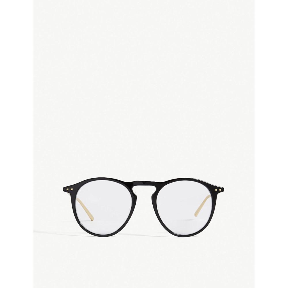 リンダ ファロー レディース メガネ・サングラス【lfl608 oval-frame glasses】Black