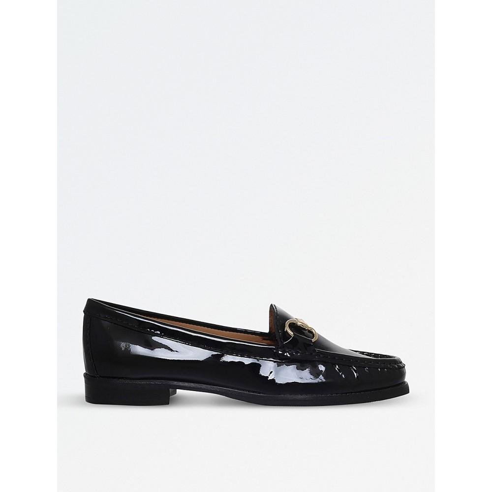 カーヴェラコンフォート レディース シューズ・靴 ローファー・オックスフォード【click 2 patent leather loafers】Black