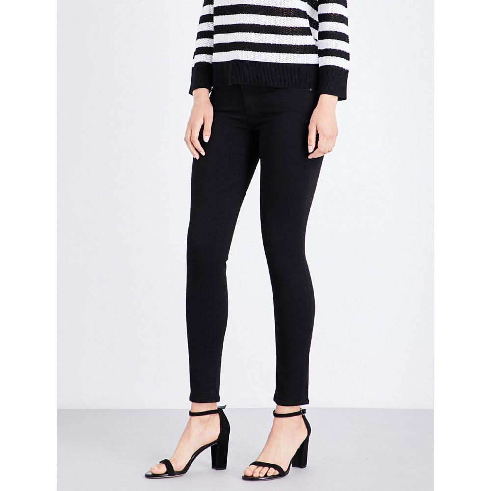 エージー レディース ボトムス・パンツ ジーンズ・デニム【the legging ankle super-skinny mid-rise jeans】Super black