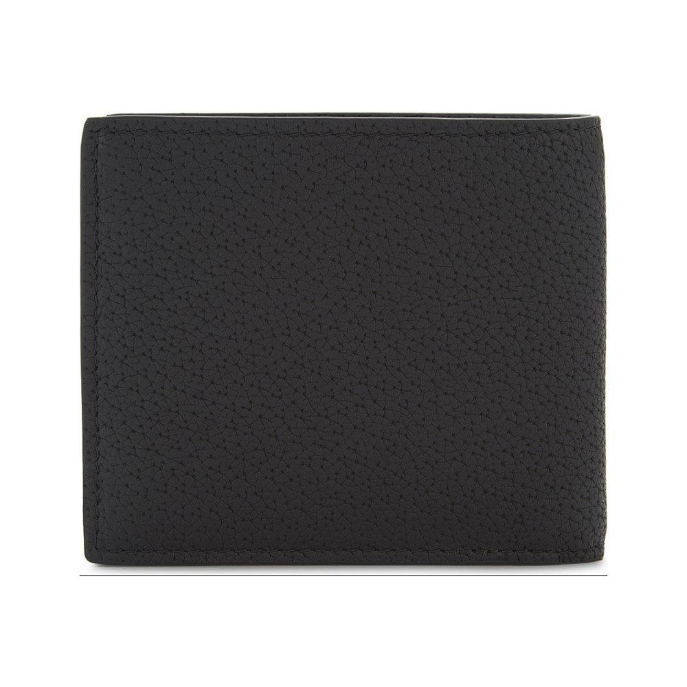 9c175f6d92d4 ヴェルサーチ メンズ 財布【medusa leather billfold wallet】Black gold ...