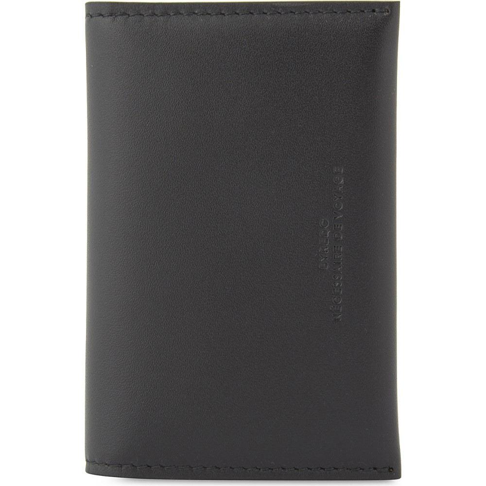 バレード レディース カードケース・名刺入れ【leather business card holder】Black
