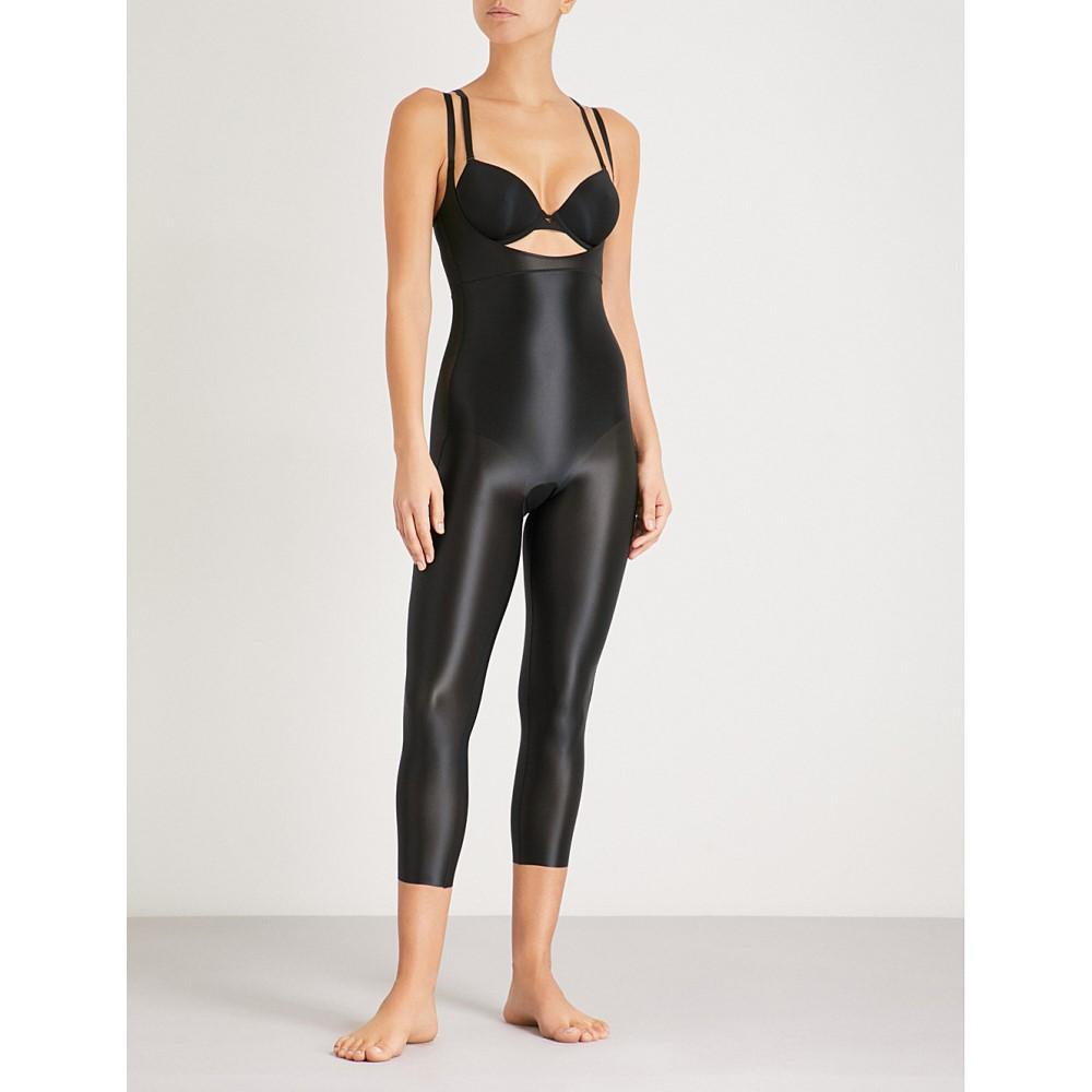 スパンクス レディース インナー・下着【suit your fancy stretch-jersey catsuit】Very black