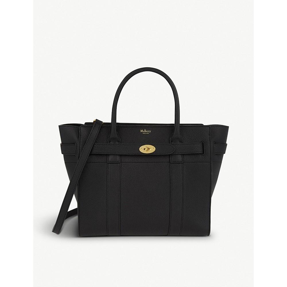 マルベリー レディース バッグ ハンドバッグ【bayswater small leather bag】Black