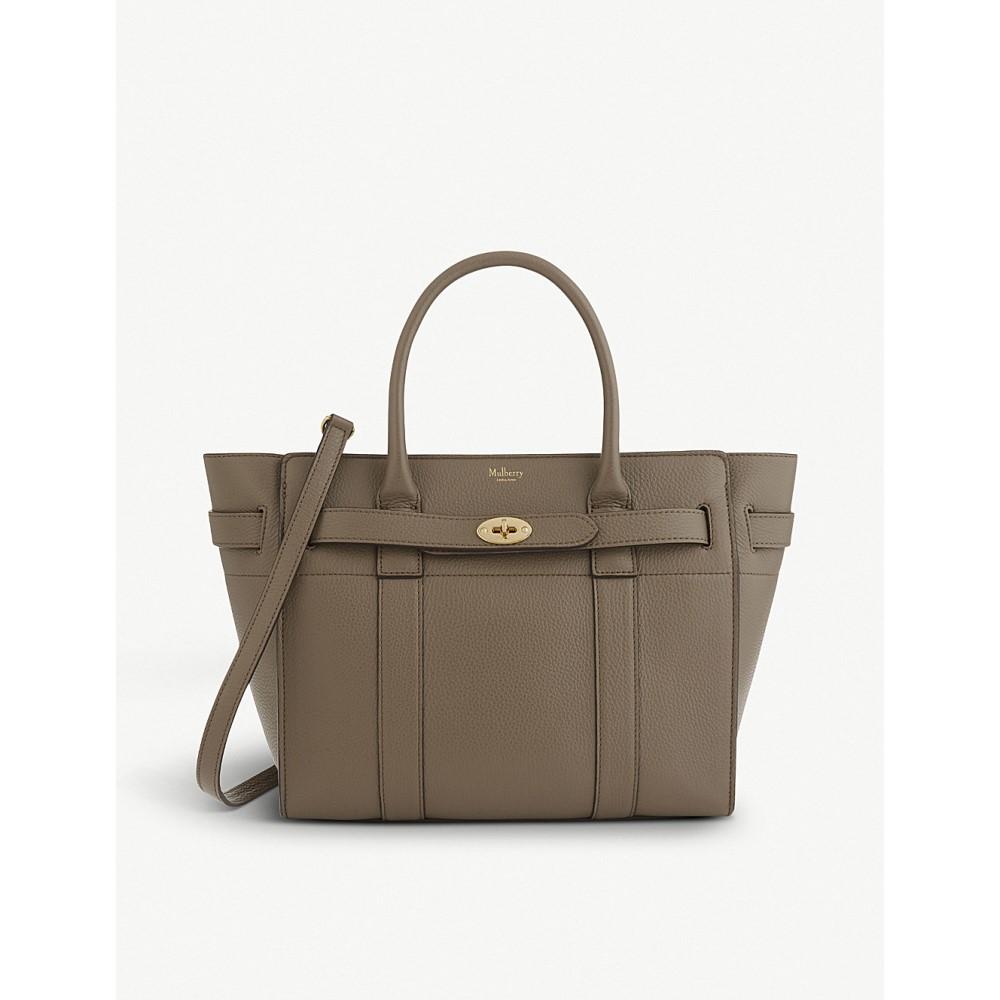 マルベリー レディース バッグ ハンドバッグ【bayswater small leather bag】Clay
