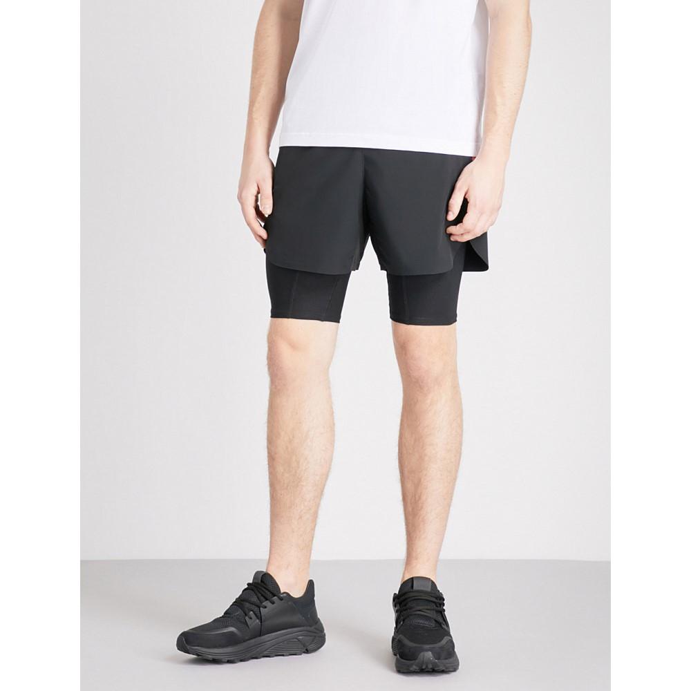 ブラックバレット メンズ ボトムス・パンツ ショートパンツ【side-stripe shell shorts】Black