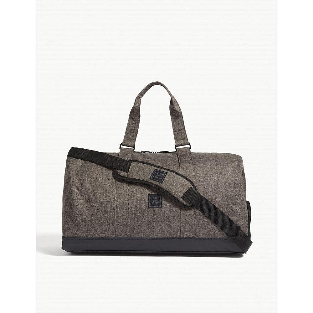ハーシェル サプライ メンズ バッグ ボストンバッグ・ダッフルバッグ【novel duffle bag】Canteen crosshatch/black