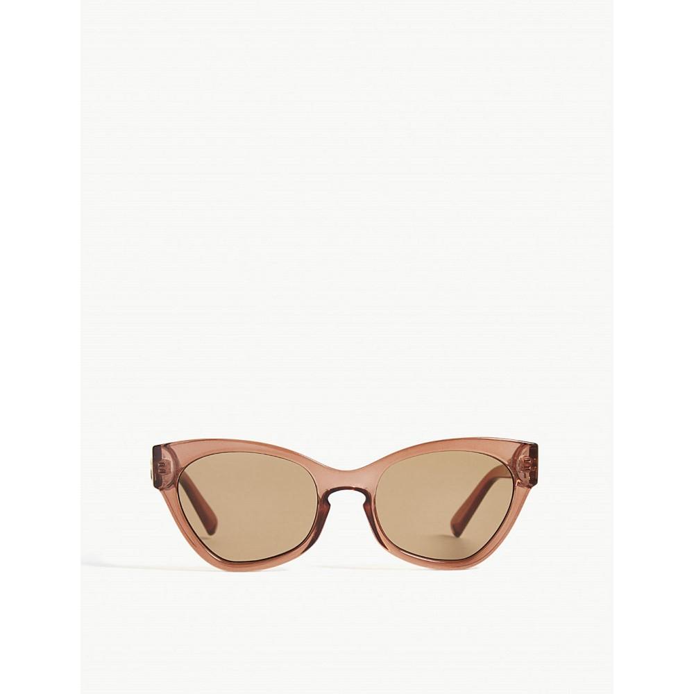 ル スペックス レディース メガネ・サングラス【raffine panthere cat-eye sunglasses】Paprika