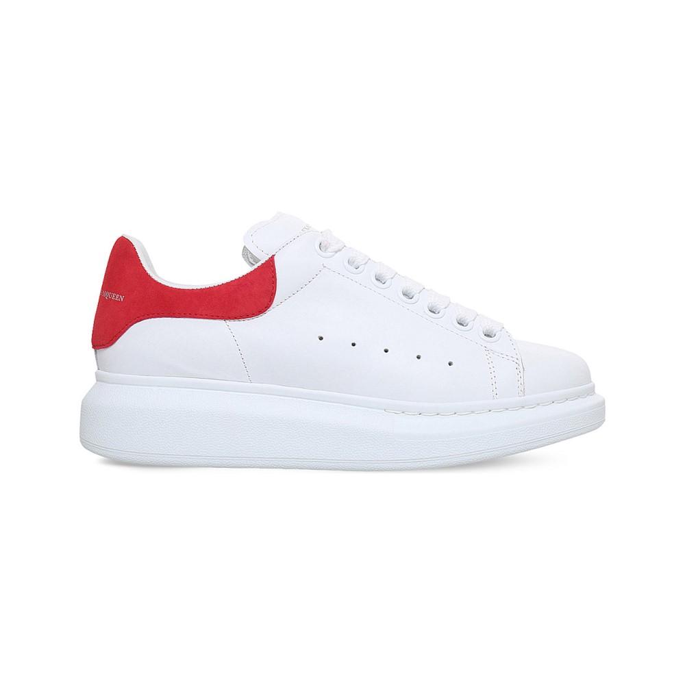 アレキサンダー マックイーン レディース シューズ・靴 スニーカー【show leather platform trainers】White/comb